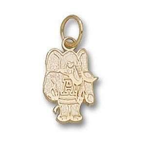 Alabama Crimson Tide 10K Gold Al Elephant 1/2 Pendant