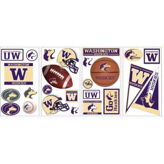 University of Washington Peel & Stick Wall Decals