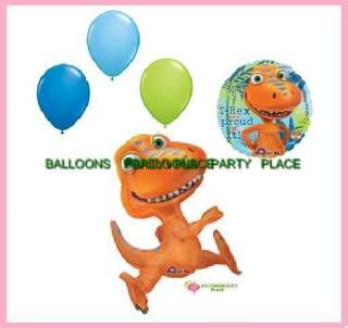 Dinosaur Train Buddy Birthday party supplies balloons decorations 5