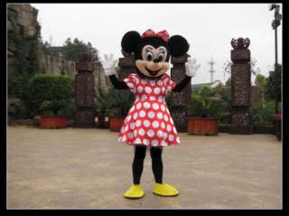 Brand New Mickey Minnie Mouse Mascot Costume Adult Size ★