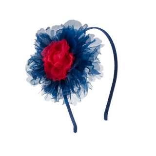 Girls tulle flower headband   hair accessories   Girls jewelry