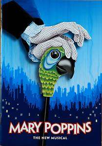 MARY POPPINS BROADWAY POP UP SOUVENIR PROGRAM