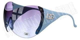 DG Eyewear Sunglasses Shades Womens Oversized Pink