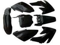New Honda Fender Plastic Kits CRF70 Dirt Bike Black Kit