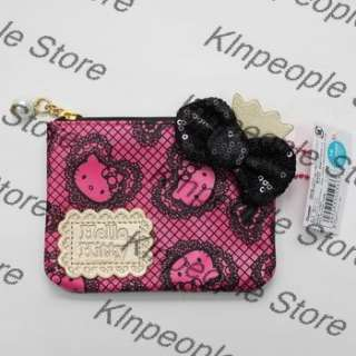 New Hello Kitty with Card Holder Wallet Coins Bag Purse