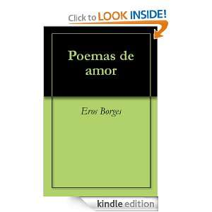 Poemas de amor (Spanish Edition): Eros Borges:  Kindle