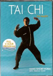 TERRY DUNN Tai Chi For Health LONG/SHORT Form 2 DVD Set