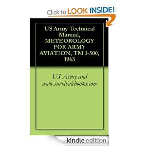 Army Technical Manual, METEOROLOGY FOR ARMY AVIATION, TM 1 300, 1963