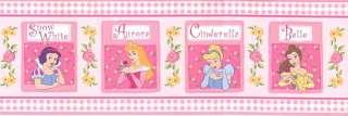 Disney Princess Cinderella Wall Border Wallpaper Decor