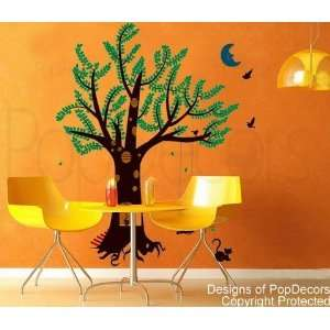 (83inch H)   Nursery Playroom Wall Decals Home Decor