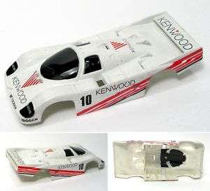 1990 TYCO Slot Car BODY PORSCHE 962 KENWOOD RARE X 19