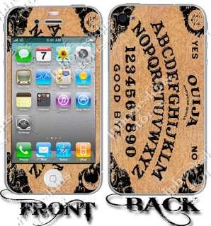 NEW APPLE IPHONE 4 3G 3GS OUIJA BOARD VINYL SKINS