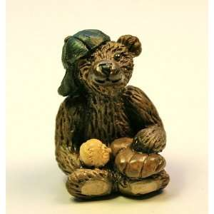 Miniature Artisan Resin Itty Bitty Bear by Penny Noble Toys & Games