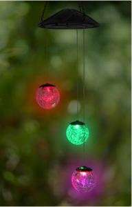Exhart Crackle Ball Color Changing LED Light In or Out 093335539215