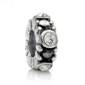Crystal Spacer 925 Sterling Silver European Bead Charms