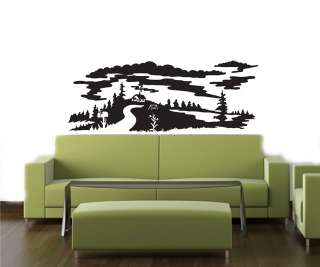 Wall Art Decor Vinyl Decal Sticker NEW YORK TWIN TOWERS
