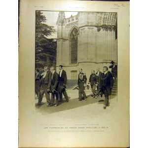 1901 Funeral Prince Henry Royal Orleans Carriage Print Home & Kitchen