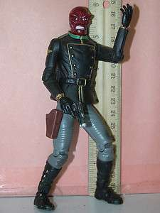 Toy Biz Marvel Legends loose figure 2002 Captain America villain Red