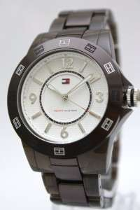 New Tommy Hilfiger Women Black Sport Watch 1781075*