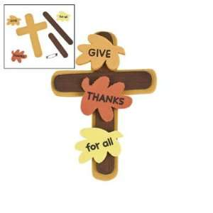 Give Thanks Cross Pin Craft Kit   Craft Kits & Projects