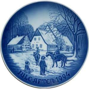 Bing & Grondahl Annual Hand Decorated Christmas Plate 1994
