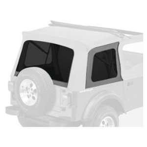 Bestop 58698 09 Charcoal Replacement Tinted Window Kit