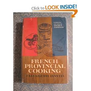 French provincial cooking: Elizabeth David: Books