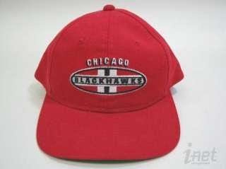 Vntg Chicago Blackhawks Sports Specialties Snapback Hat