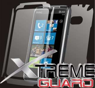 NEW HTC 7 Surround FULL BODY LCD Screen Protector Case 640522012121