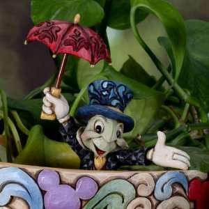 Jim Shore Disney Traditions Jiminy Cricket Cachepot