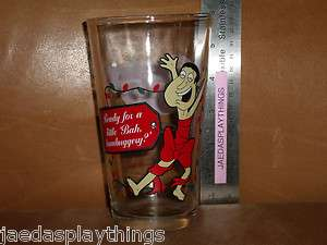 Family Guy GLENN QUAGMIRE Christmas Beer Glass Cup 5.75 Tall FREE US