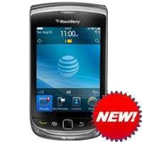 NEW OEM BLACKBERRY BLACK LEATHER CASE PHONE POUCH SWIVEL HOLSTER for