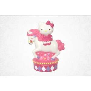 Hello Kitty Coin Bank Carousel Theme Toys & Games