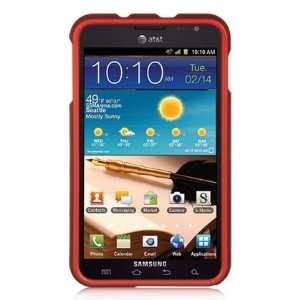 VMG Samsung Galaxy Note Hard Case Cover   Dark Red Premium Hard 2 Pc