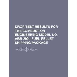 Drop test results for the Combustion Engineering model no