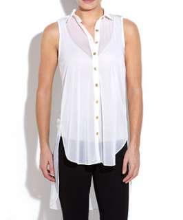 Cream (Cream) Innocence Sleeveless Dip Back Shirt  249928113  New