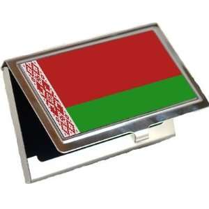Belarus Flag Business Card Holder