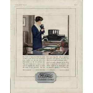 1924 Ford Closed Cars Ad, A3251