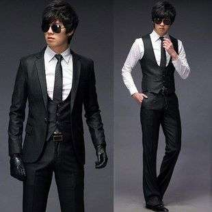 2011 NEW Mens Slim Fit High Quality Korean Fashion Classic Suits