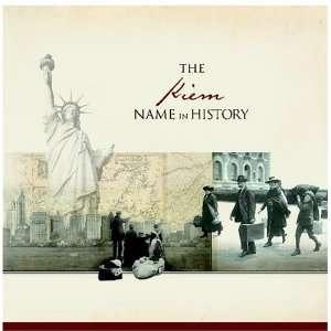 The Kiem Name in History: Ancestry Books