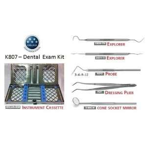Dental Exam Instrument Kit