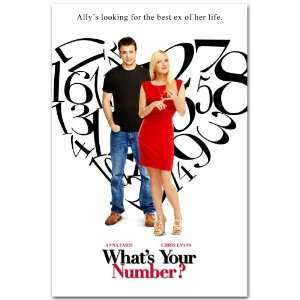 ? Promo Flyer   2011 Movie Anna Faris Chris Evans BNT: Home & Kitchen
