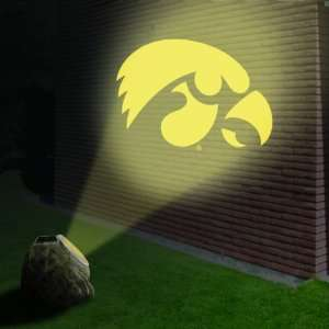 Iowa Hawkeyes Logo Projection Rock: Sports & Outdoors