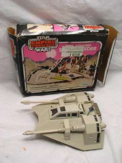 VINTAGE STAR WARS ESB REBEL ARMORED SNOW SPEEDER IOB