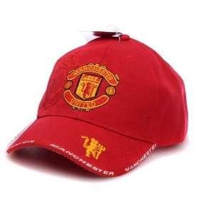 Manchester United FC   Red Adjustable Cap Hat