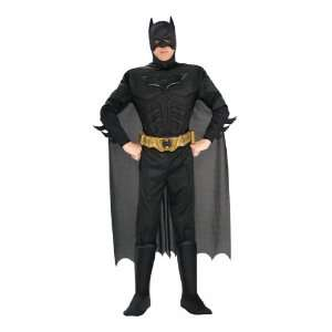 The Dark Knight Deluxe Muscle Chest Batman Mens Costume