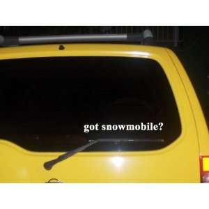 got snowmobile? Funny decal sticker Brand New