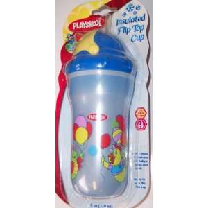 INSULATED FLIP TOP CUP (9oz)   BLUE Baby