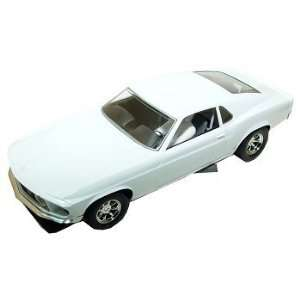 Scalextric 132 Scale Slot Car Ford Boss 302 Mustang White