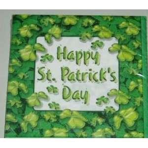 Irish SHAMROCK St Patricks Day LUNCHEON NAPKINS